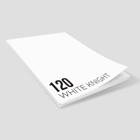 Notepads 120gsm White Knight