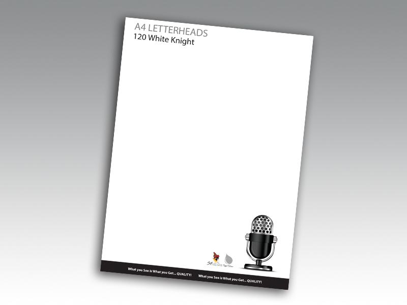 120gsm White Knight Premium Letterhead