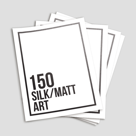 150gsm Silk Matt Paper Flyers