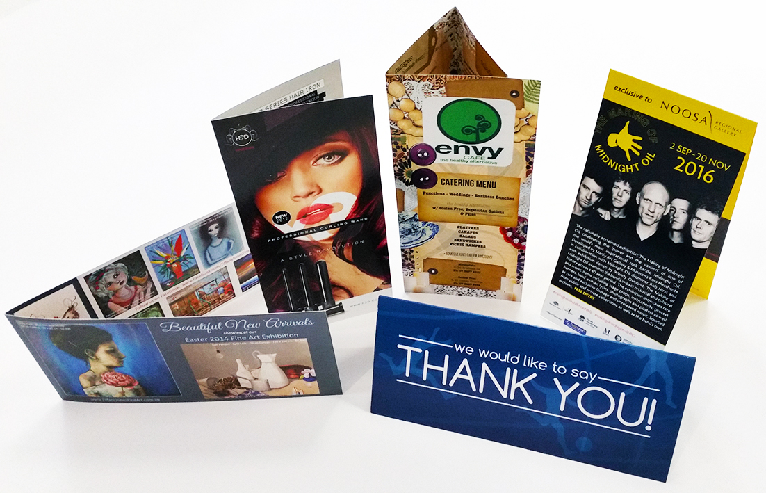 250gsm Gloss Semi Card Brochures