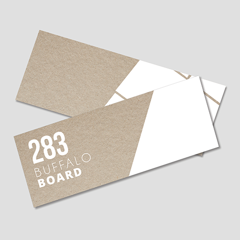 332gsm Buffalo Board Bookmarks