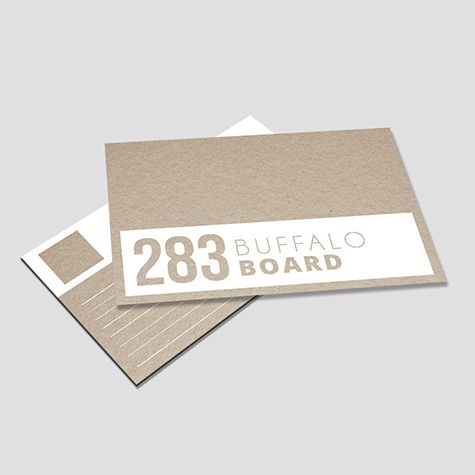 332gsm Buffalo Natural Brown Postcards