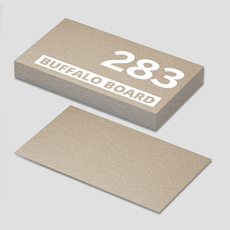 332gsm Buffalo Kraft Board Specialty Business Cards