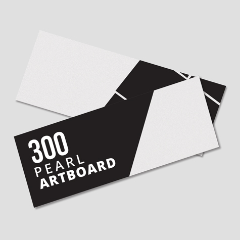300gsm Peal Artboard Bookmarks