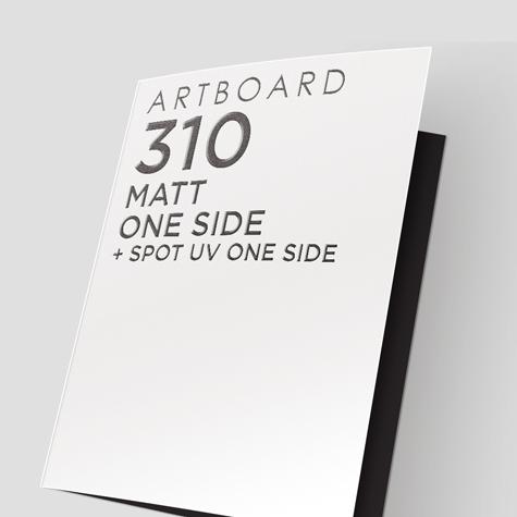 Presentation Folders 310gsm Artboard Matt One Side + Spot UV 1 Side