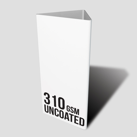 310gsm Uncoated Table Talker