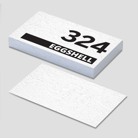 324gsm Eggshell Superfine Speciality Business Cards