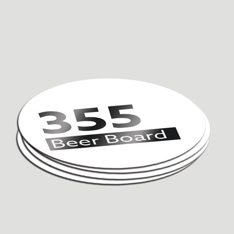 Beer Coasters custom Printed 365gsm beer board Sunshine Coast