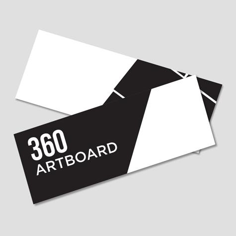 Bookmarks 360gsm artboard