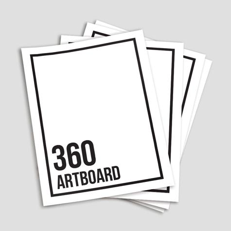 360gsm Artboard Flyers