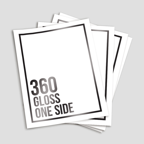 360gsm Gloss Cello One Side