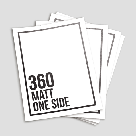 360gsm Matt Cello One Side