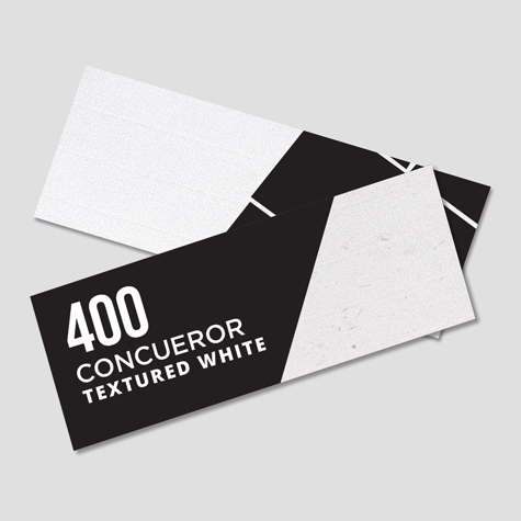 Bookmarks 400gsm Conqueror Textured White