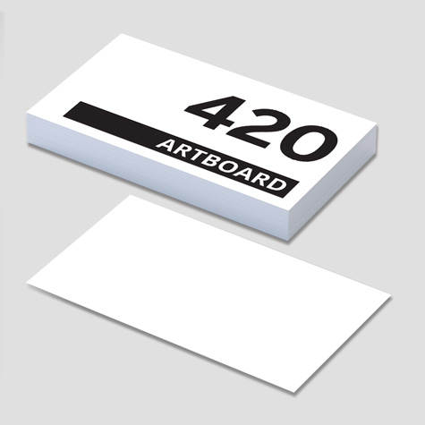 420gsm Business Cards
