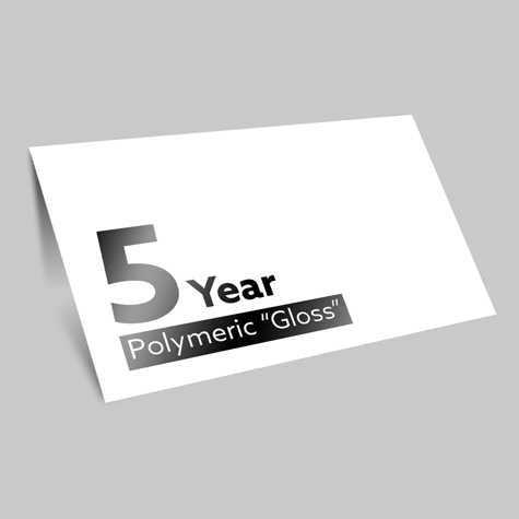 Stickers 5 Year Polymeric