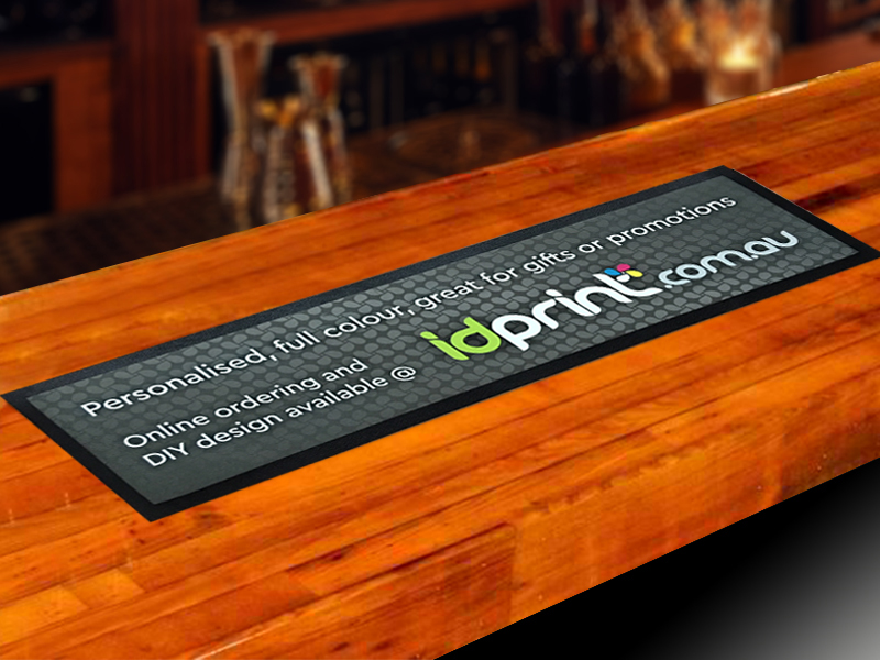Bar Runners Bar Mats Custom Printed Sunshine Coast