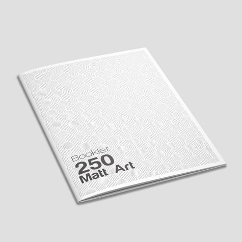Booklets 250gsm Matt Artboard Saddle Stapled Sunshine Coast