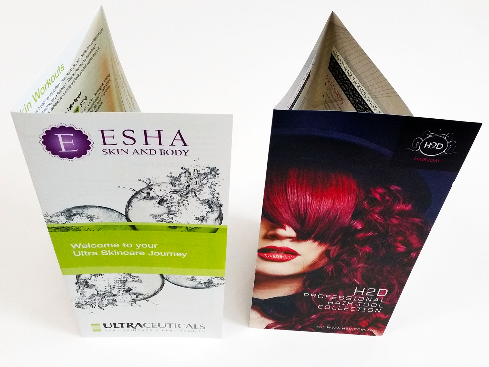 150gsm Gloss Brochures Folded Sunshine Coast