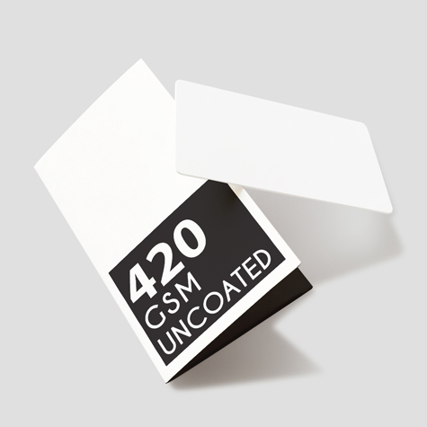 Multi-purpose Card holder 420gsm uncoated