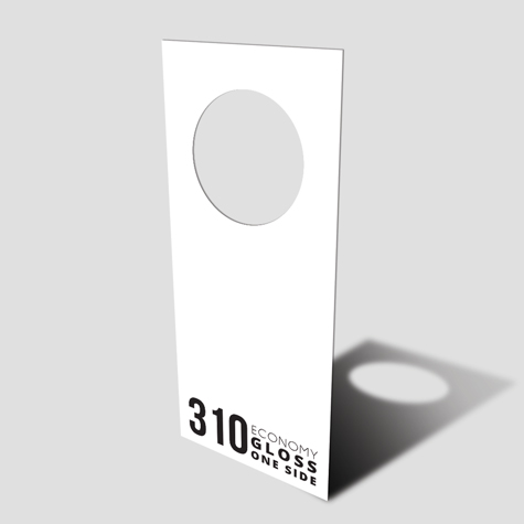 Door Hangers 310gsm Gloss cello one side
