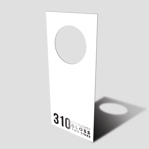 Door Hangers 310gsm Gloss Cello Both Sides