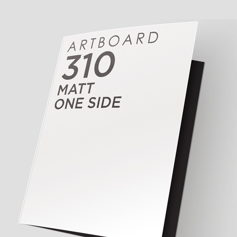 Presentation Folders 310gsm with Matt Cello One Side
