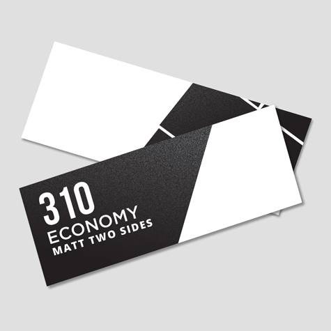 Bookmarks 310gsm Matt Cello Two Sides