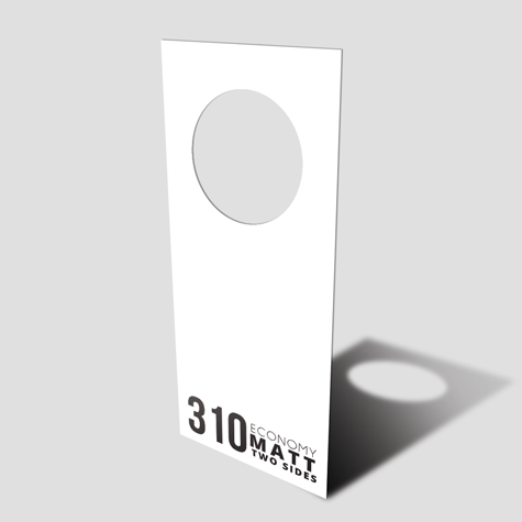 Door Hangers 310gsm Matt Cello Two Sides