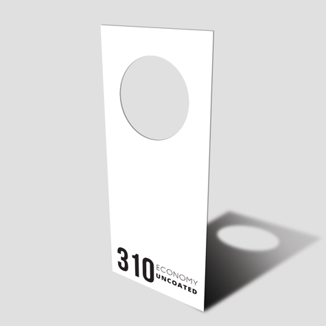 Door Hangers 310gsm Uncoated