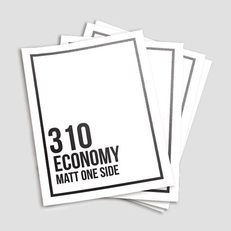310gsm Matt Cello Single Sided