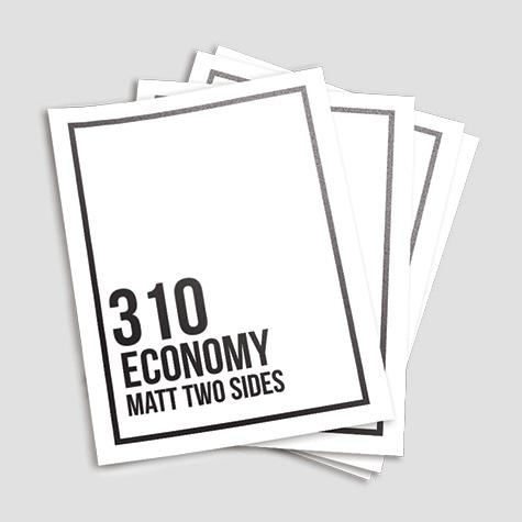 310gsm Matt Cello Both Sides Flyer