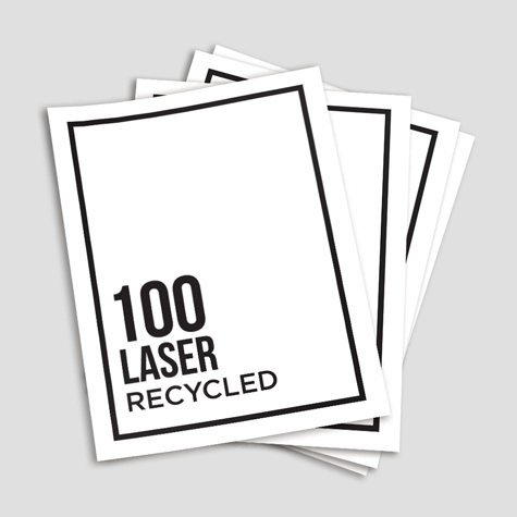 100gsm 100% Recycled Flyers Ecostar