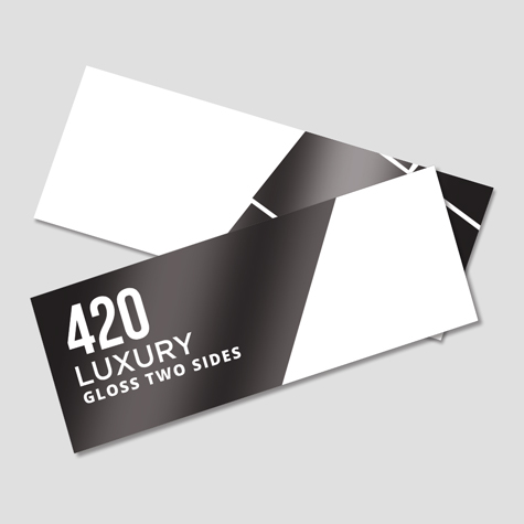 Bookmarks 420gsm Gloss Cello Two Sides