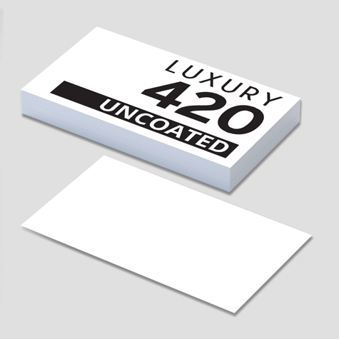 420gsm Uncoated Business Cards
