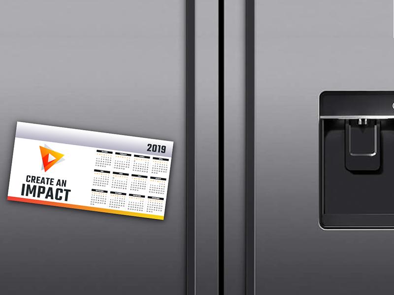 Magnet Calendars 0.4mm Gloss Cello One Side