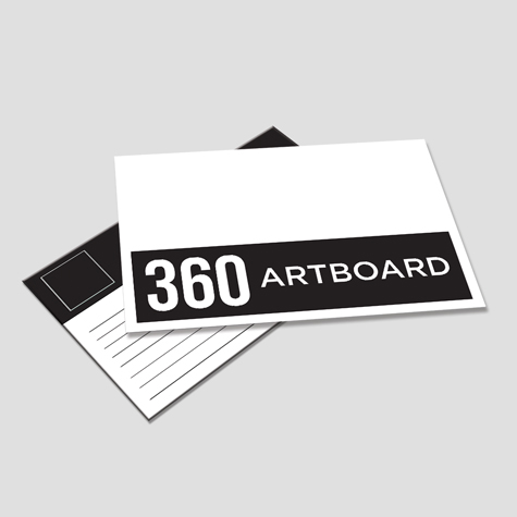 360gsm Postcards custom printed