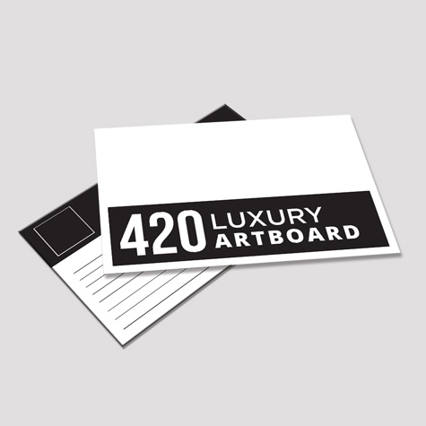 420gsm Postcards Custom Printed
