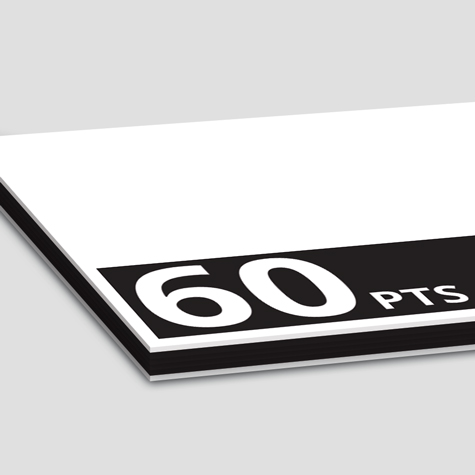 Specialty Multiloft Encore layered Postcards ultra 900gsm thick 60 Pts