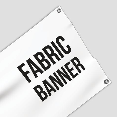 Super Saver Fabric Banner 1 metre x 2 metres with eyelets Sunshine Coast