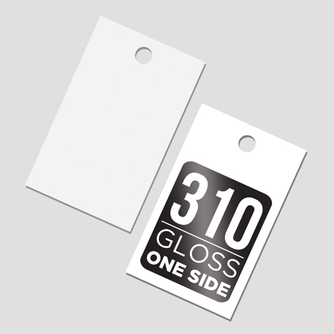 Swing Tags 310gsm Gloss One Side