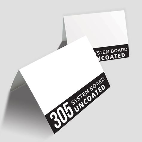 Greeting Cards 305gsm high white systems board