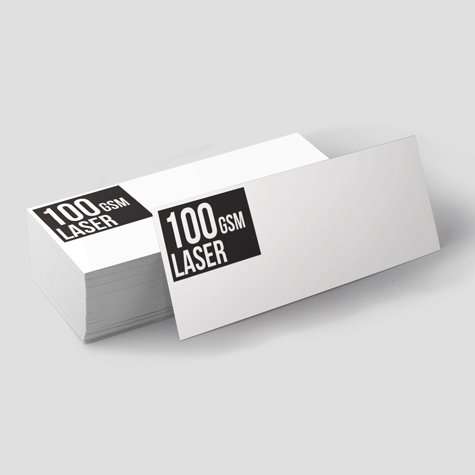 With Compliment Slips printed on 100gsm