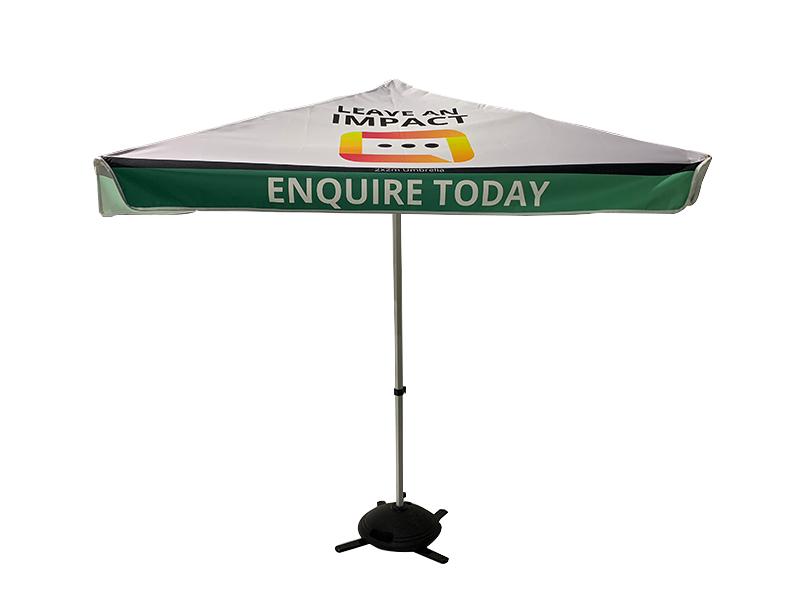 Printed Market Umbrella Sunshine Coast