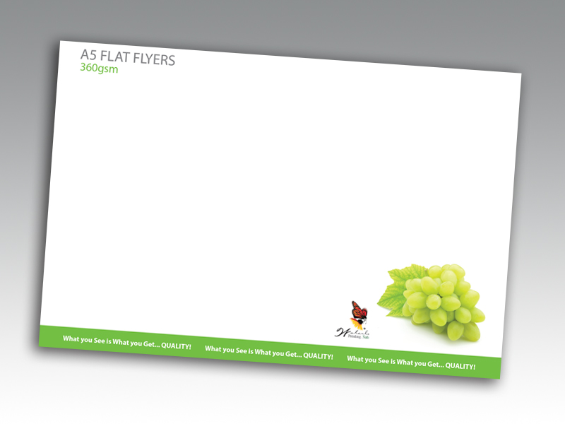 360gsm Uncoated Flyers
