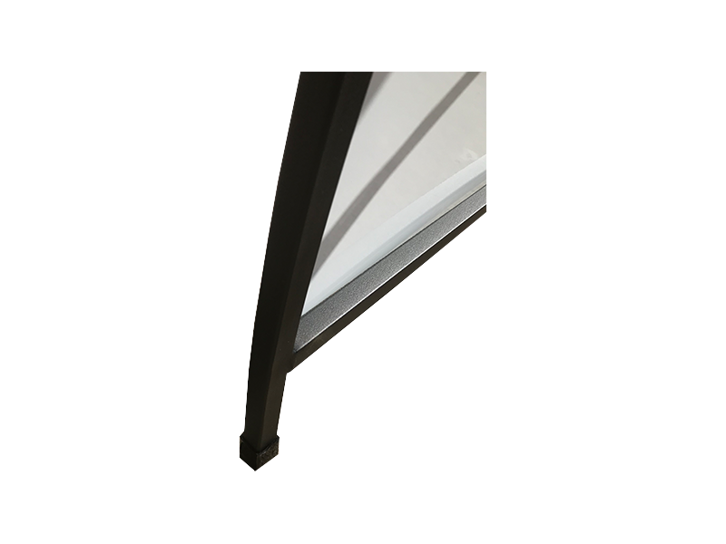 Curved A-Frame Deluxe Metal Sheet including print Sunshine Coast detail