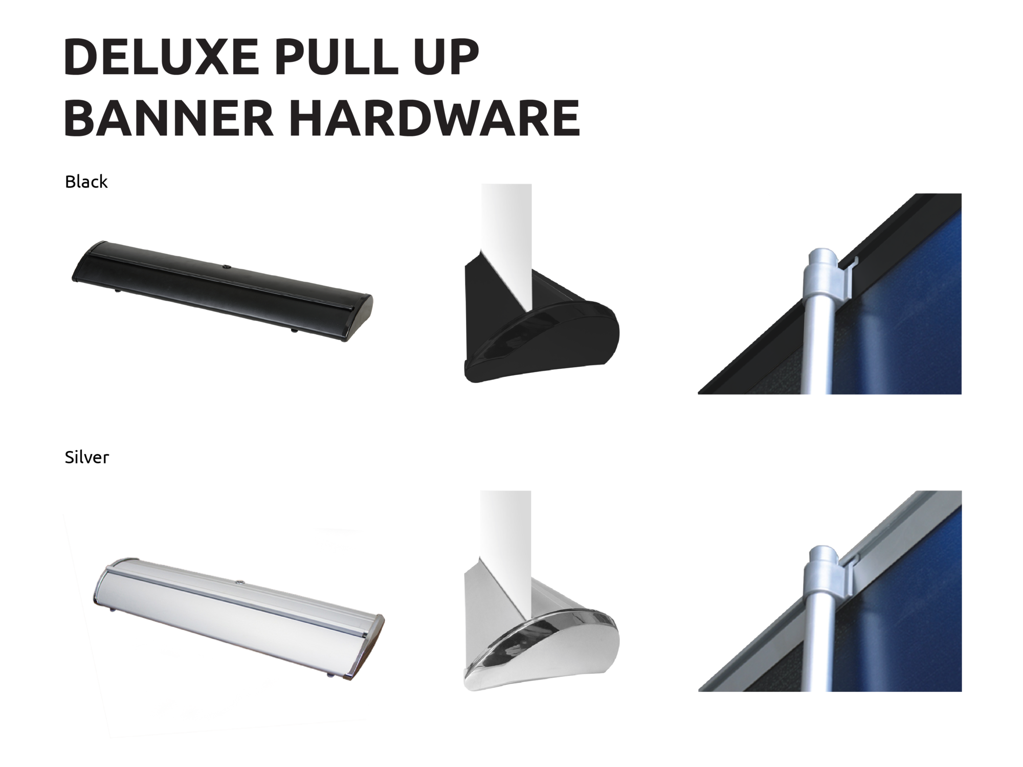 Deluxe Pull Up Banners Sunshine Coast Hardware
