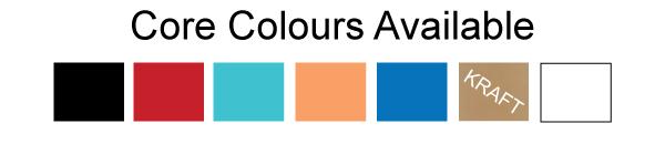Encore Multiloft Speciality Layered Business Cards Core-Colours