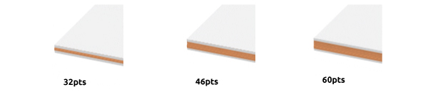 Encore Multiloft Speciality Layered Business Cards Thickness-Available