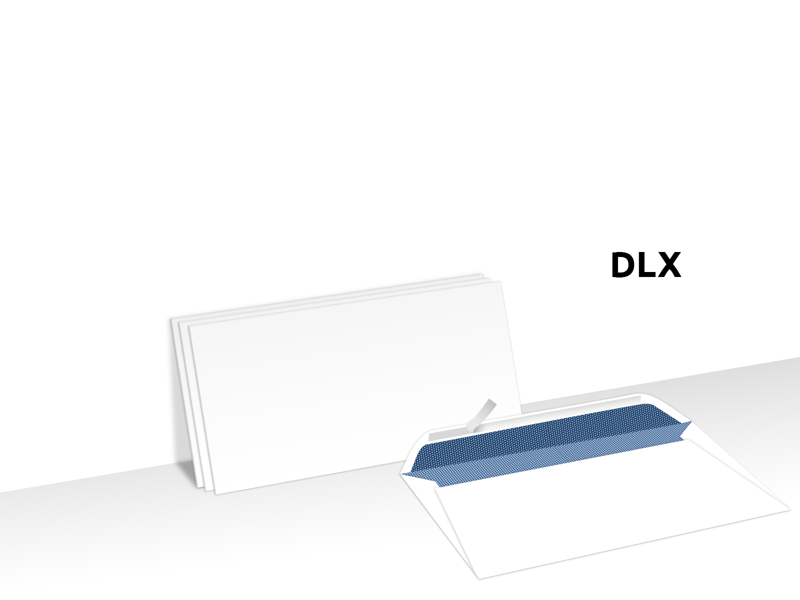 Envelopes Secretive Plain Face Peel & Seal Custom Printed DLX
