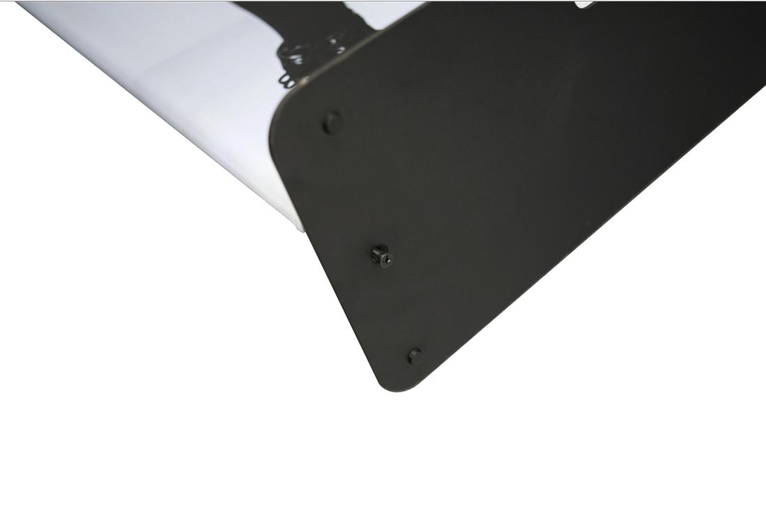 Fabric Display screws into baseplate 2